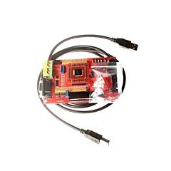 MSP430 udvikling bord msp430f149 mikrocontroller minimum systemkort core board farveskærm med USB Downloader