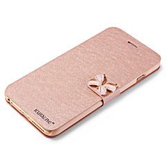 Käyttötarkoitus iPhone X iPhone 8 iPhone 6 iPhone 6 Plus kotelot kuoret Korttikotelo Tuella Flip Kokonaan peittävä Etui Kimmeltävä Kova