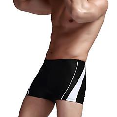 Esportivo Homens Roupa de Banho Respirável / Redutor de Suor / Compressão Bottoms Swimwear Push Up Cordas Amarelo / Branco / Preto / Azul