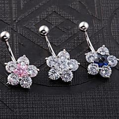 Γυναικεία Κοσμήματα Σώματος Navel & Bell Button Rings Μοναδικό Μοντέρνα κοστούμι κοστουμιών Ανοξείδωτο Ατσάλι Κοσμήματα Κοσμήματα Για