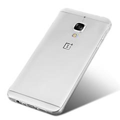 Voor OnePlus hoesje Transparant hoesje Achterkantje hoesje Effen kleur Zacht TPU voor OnePlus One Plus 3 One Plus 2 One Plus 3T
