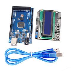 verbeterde versie mega2560 Development Board + 1602 lcd toetsenbord schild voor Arduino