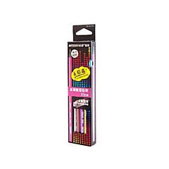 Festmény Toll Színes ceruzák Toll,Fa Hordó Piros Fekete Ink Colors For Iskolai felszerelés Irodaszerek Csomag