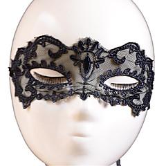 Lace Mask 1pc Μάσκες Διακοπές Διακόσμηση Κόμμα Απίθανο / Μοντέρνα Ένα Μέγεθος Μαύρο Δαντέλα