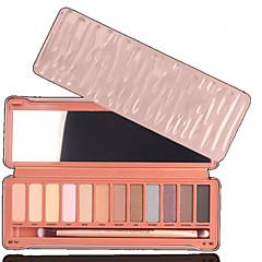 12 Oogschaduwpalet Droog Oogschaduw palet Poeder Normaal Dagelijkse make-up / Feestelijke make-up / Kattenoog make-up
