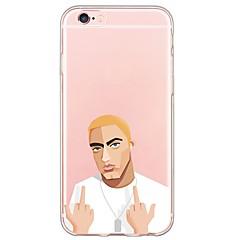 Mert iPhone 6 tok / iPhone 6 Plus tok Ultra-vékeny / Áttetsző Case Hátlap Case Punk Puha TPU AppleiPhone 6s Plus/6 Plus / iPhone 6s/6 /