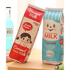 우유 카톤 디자인 섬유 펜 가방