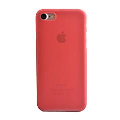 Til iPhone 8 iPhone 8 Plus iPhone 7 iPhone 7 Plus iPhone 6 Etuier Syrematteret Gennemsigtig Bagcover Etui Helfarve Hårdt PC for Apple
