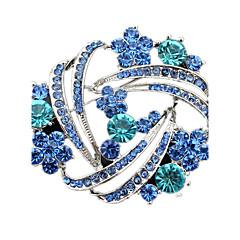 Γυναικεία Καρφίτσες Κρυστάλλινο κοστούμι κοστουμιών Προσομειωμένο διαμάντι Κοσμήματα Για Γάμου Πάρτι Καθημερινά Causal