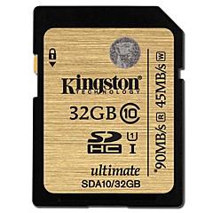 Kingston 32GB SD Kort hukommelseskort UHS-I U1 Class10
