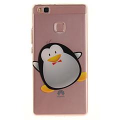 Για huawei p9 lite p8 lite tpu υλικό imd διαδικασία κινουμένων σχεδίων πιγκουίνος πρότυπο τηλέφωνο περίπτωση για y6ii απολαύσετε 5 τιμή 8