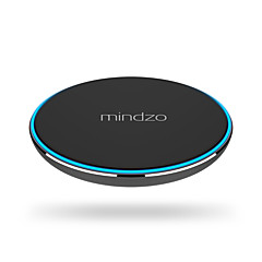 mindzo langaton lataus pad qi ultraohut laturi samsung S7 S6 reuna huomautuksen 5 nexus 4 5 6 7 Nokia Lumia 920