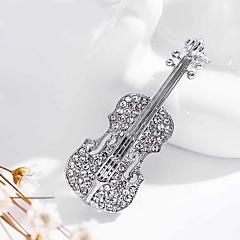 Męskie Damskie Broszki Modny Osobiste Imitacja diamentu Biżuteria Na Ślub Impreza Codzienny Casual