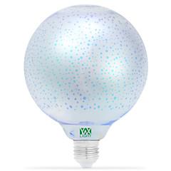 5W E26/E27 LED-bollampen 48 COB 400-500 lm Rood Blauw Geel Groen Paars Roze Amber Violet Oranje Decoratief V 1 stuks