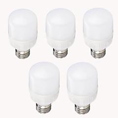 7w e26 / e27 led corn világítás t 12 smd 2835 700-750 lm meleg fehér hűvös fehér dekoratív ac 220-240 v 5 db