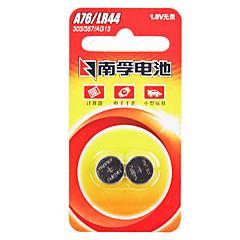 Nanfu AG13 kolikon nappiparistolla alkaliparisto 1,5 V 140mah 2 kpl