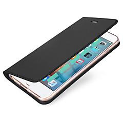 Na iPhone X iPhone 8 Etui Pokrowce Etui na karty Flip Magnetyczne Futerał Kılıf Solid Color Twarde Sztuczna skóra na Apple iPhone X