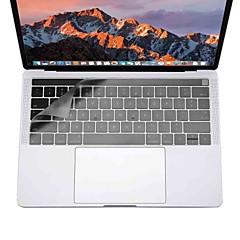 xskn® ultravékony billentyűzet fedél MacBook Pro 13 15 érintőképernyős bar (a1706 / a1707) világos TPU laptop billentyűzet bőr védő fólia