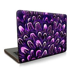 macbook lucht 11 13 / pro13 15 / pro met retina13 15 / macbook12 paarse cactus beschreven appellaptop case