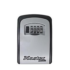 Kluczyk na klucz kombinowany kluczyk zamocowanie na ścianie 4-cyfrowy, odporny na czynniki atmosferyczne pojemnik na klucze