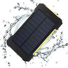 η νέα 8000mAh ddual-usb ηλιακή powered κινητή δύναμη
