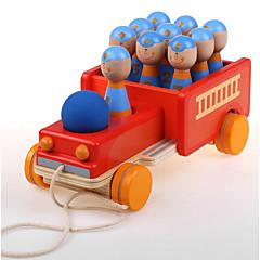 조립식 블럭 교육용 장난감 선물 조립식 블럭 차 나무 2 - 4 세 5 - 7 세 장난감
