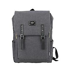 15,6 ιντσών εξαιρετικά ελαφρύ φορητό σακίδιο υπολογιστή κορεατική τσάντα ώμου αδιάβροχο καθαρό χρώμα unisex