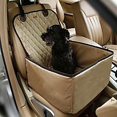 قط كلب سيارة مقعد الغطاء حيوانات أليفة الحصير والوسادات المحمول مزدوج متنفس قابلة للطى لون عشوائي