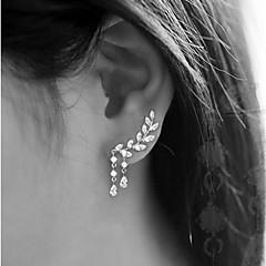 Dames Oorknopjes Modieus Kostuum juwelen Legering Bladvorm Sieraden Voor Feest Verjaardag Dagelijks