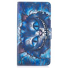 ügy Huawei p10 lite P8 lite (2017) a kék macska mintás műbőr tokok Huawei P9 lite társ 9 y625 changxiang5