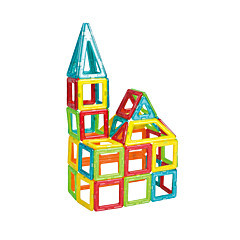 자석 블록 선물 조립식 블럭 광장 삼각형 6 세 이상 장난감