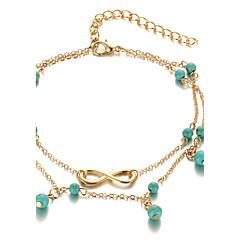 Pentru femei Brățară Gleznă/Brățări Aliaj La modă Bohemia Stil costum de bijuterii Infinit Bijuterii Pentru Zilnic Casual