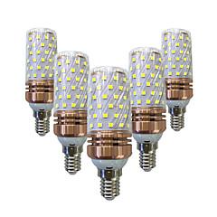 15W LED Λάμπες Καλαμπόκι T 78 SMD 2835 700-800 lm Θερμό Λευκό Άσπρο V 5 τμχ