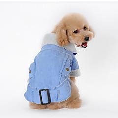 Koira Takit Koiran vaatteet Rento/arki USA / USA Kahvi Ruskea Vihreä Sininen