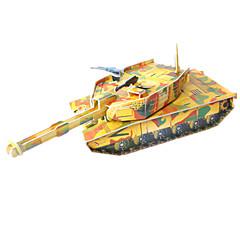 بانوراما الألغاز مجموعة اصنع بنفسك قطع تركيب3D اللبنات DIY اللعب دبابة
