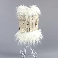 Koira Takit Koiran vaatteet Rento/arki USA / USA Musta Beesi Pinkki