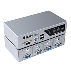 VGA USB 2.0 PS2 Kytkin, VGA USB 2.0 PS2 to VGA USB Type B Kytkin Naaras - Naaras 1080P
