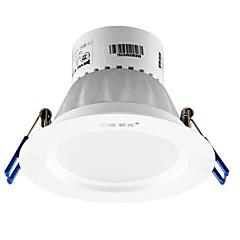 1pc 5w led downlight celing light warm geel ac220v grootte gat 100mm 3000k