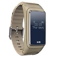 Έξυπνο Ρολόι Ανθεκτικό στο Νερό Μεγάλη Αναμονή Βηματόμετρα Αθλητικά Συσκευή Παρακολούθησης Καρδιακού Παλμού Πληροφορίες Bluetooth 3.0