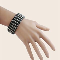 Herre Drenge Armbånd Manchetarmbånd Læder ArmbåndGeometrisk Dobbeltsidet Håndlavet Gør Det Selv Statement-smykker minimalistisk stil