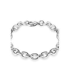 Heren Dames Armbanden met ketting en sluiting Sieraden PERSGepersonaliseerd Luxe Sieraden Eenvoudige Stijl Klassiek Metallic Sterling