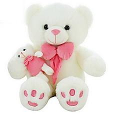 Zabawki Zwierzęta Niedźwiedź Coral Fleece Len / bawełna Wszystkie grupy wiekowe
