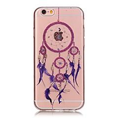 Voor iPhone 7 iPhone 7 Plus Hoesje cover Ultradun Transparant Patroon Achterkantje hoesje Dromenvanger Zacht TPU voor Apple iPhone 7 Plus
