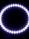 Декоративный свет для фары автомобиля (светодиодные 39, 12 см, белый)