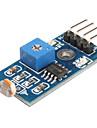6495 fotoresistor Modulo sensor de luz para o carro Smart (Black & Blue)