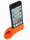 Vintage corne de support en forme de gel de silice pour l'iphone (couleurs assorties)