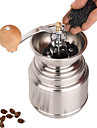 Acier inoxydable Muller Manuel Grinder moulin a cafe, W16.5cm x L9.5cm x H9cm