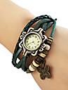 Women\'s Butterfly Pendant Leather Band Quartz Analog Bracelet Watch (Assorted Colors) Cool Watches Unique Watches Fashion Watch Strap Watch
