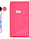 노키아 Lumia를 920 S 스타일 TPU 소프트 케이스 (선택적인 색깔)