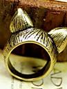 europeu e americano de jóias vintage retro fashion personalidade orecchiette anel (cor aleatória)